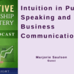 041 Intuition in Public Speaking and Business Communication